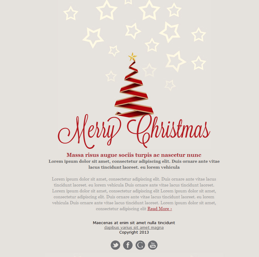 12 Holiday Email Design Images