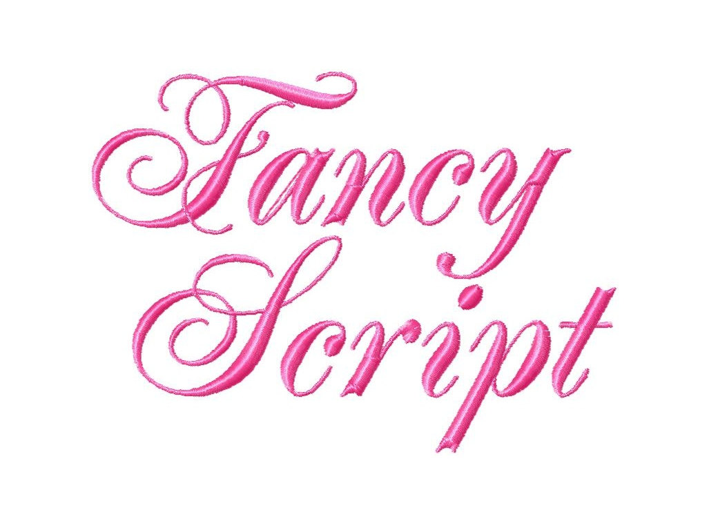 14 Free Fancy Cursive Fonts Images