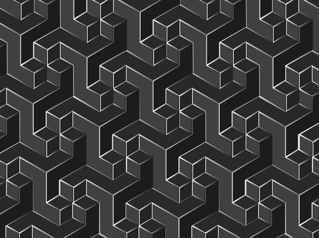 Free Geometric Vector Patterns