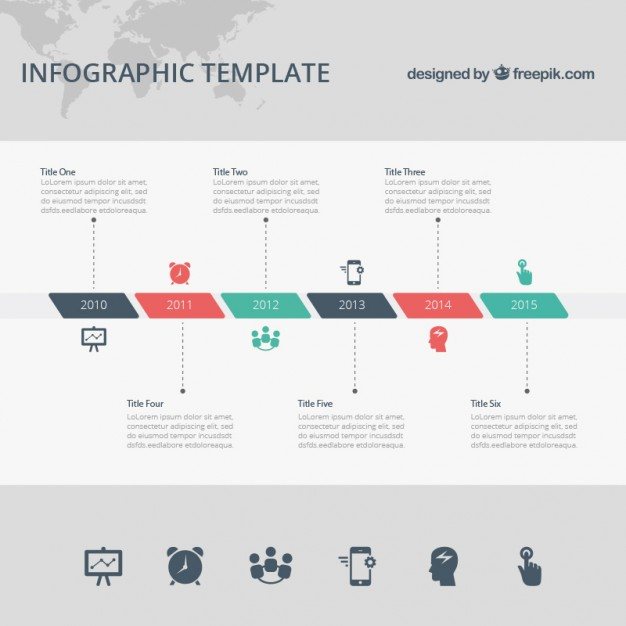 Free Infographic Templates Timeline
