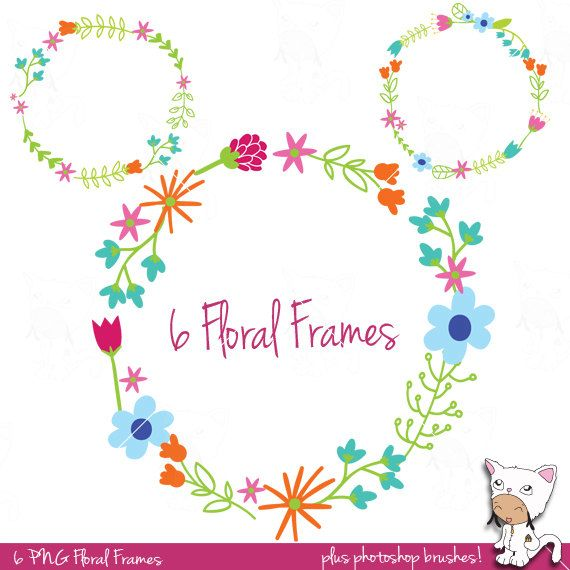 Free Photoshop Floral Overlays