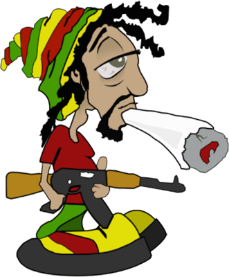 Free Rasta Cartoon Characters