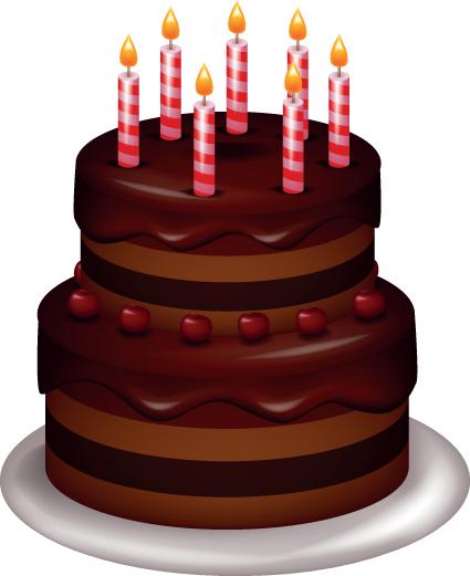 Free Vector Birthday Cake