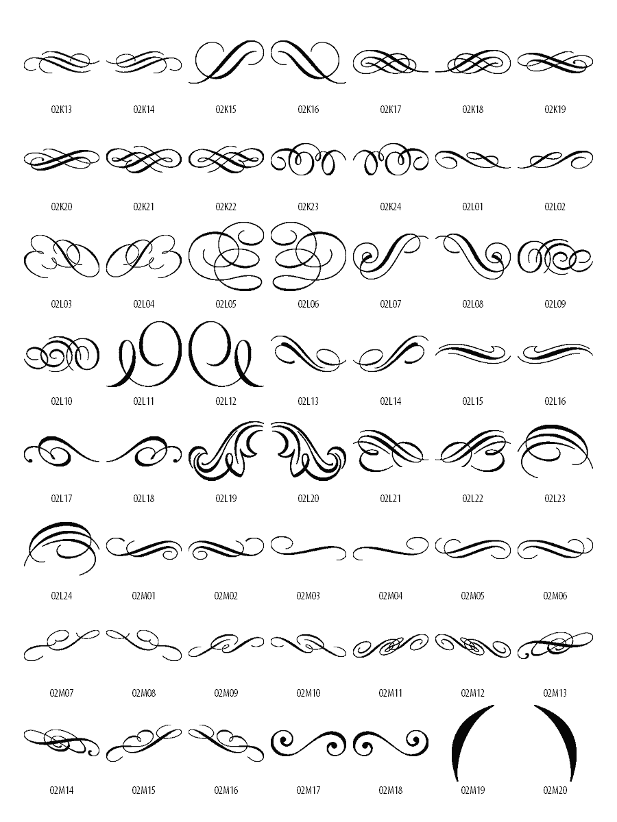 Free Vector Decorative Scroll Clip Art