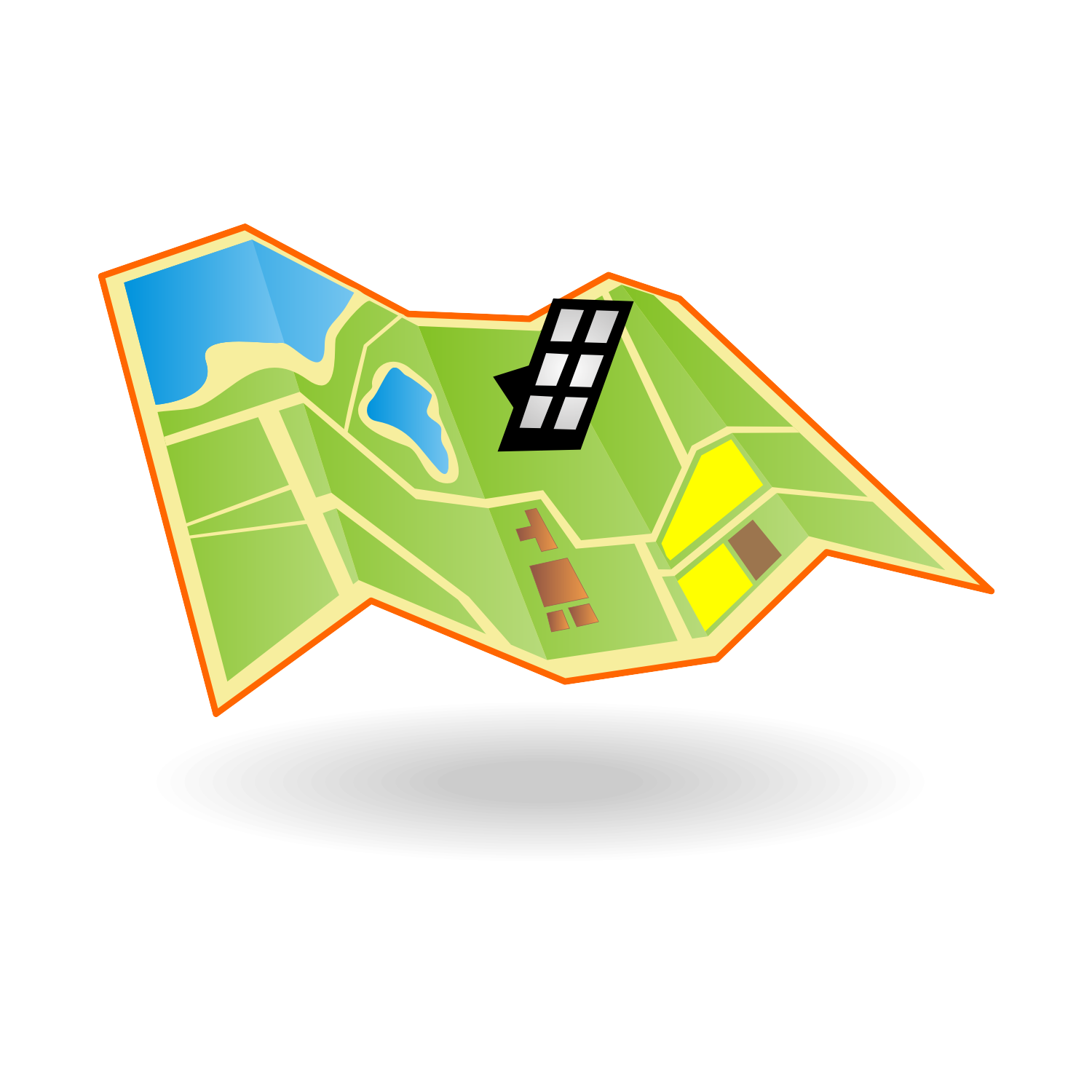17 Map Icon Vector Images