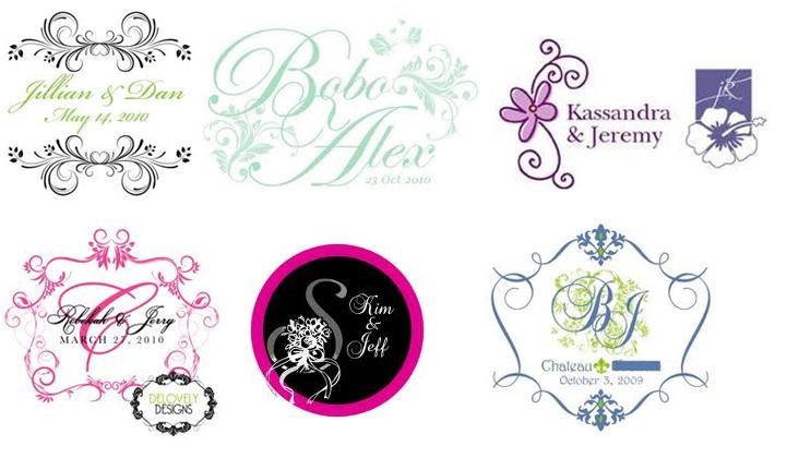 Free Wedding Logos Design