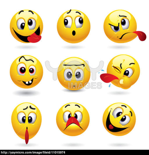 Funny Smiley Faces Emoticons