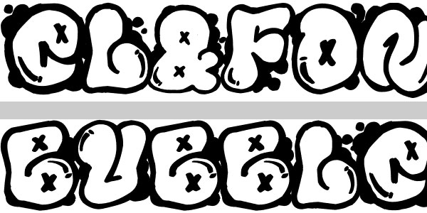 Graffiti Bubble Letters Font