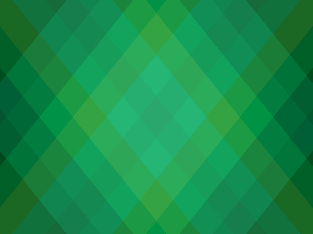 Green Geometric Background Free