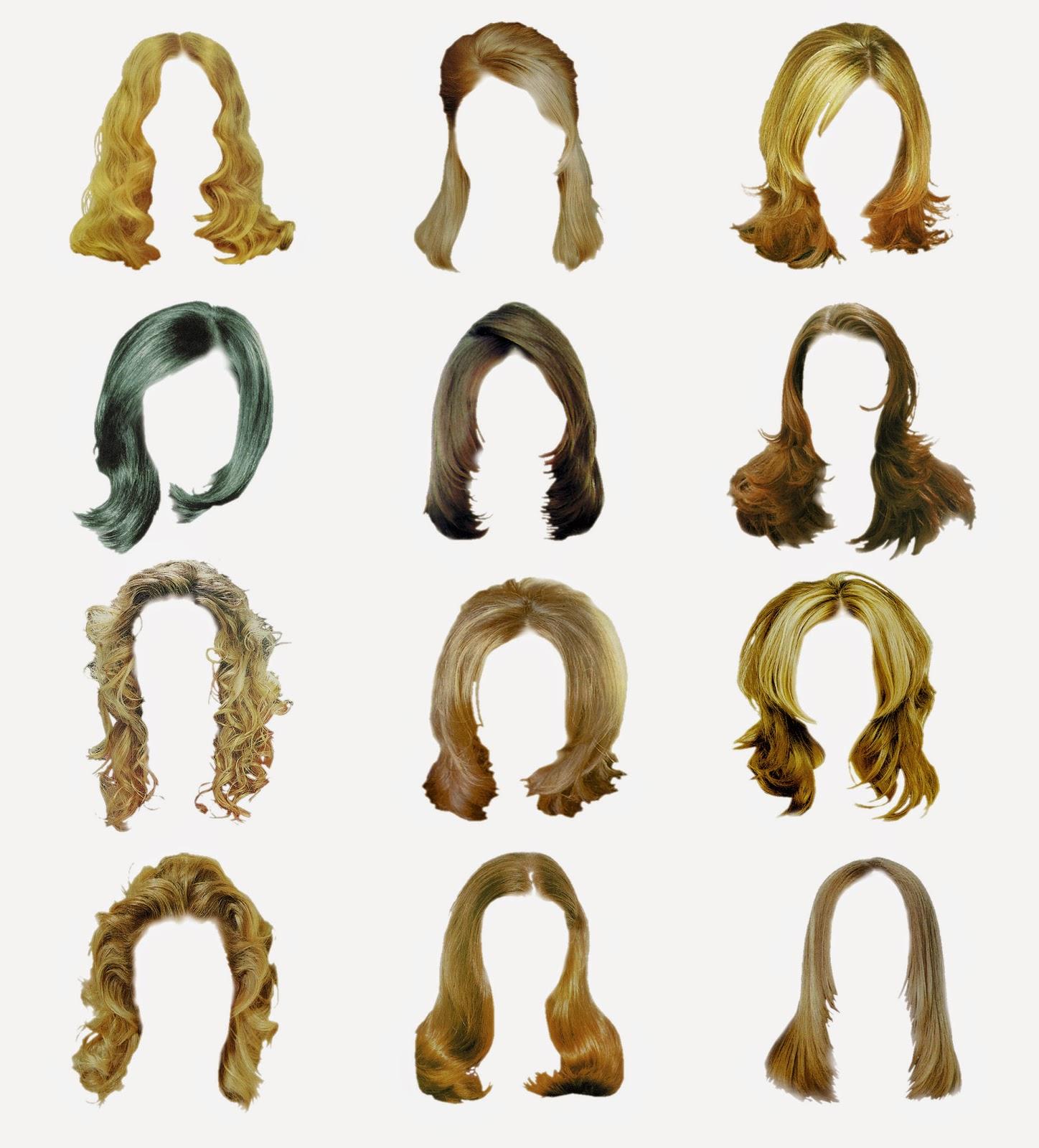 Hair PSD Free Download
