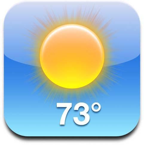 9 IPhone Weather App Icon Images
