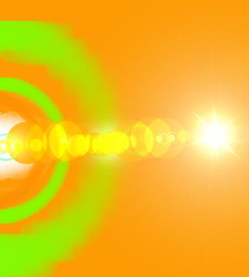 15 Glow Light PSD Images