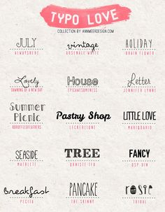 Lovely Fonts Free Download