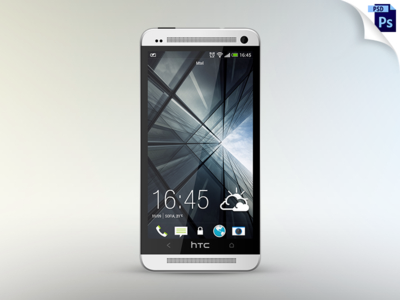 10 HTC Phone PSD Mockup Images