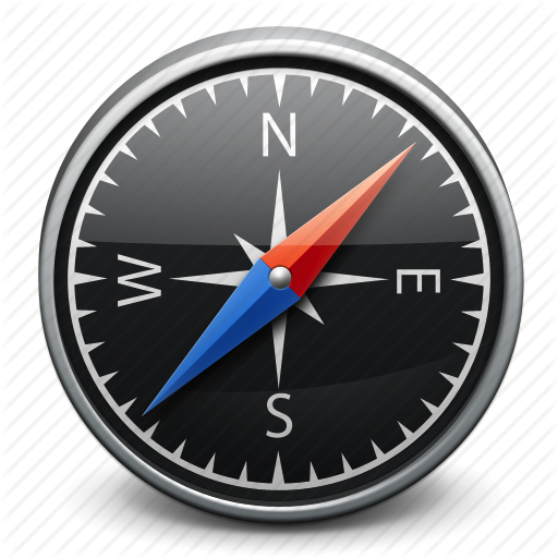 8 Compass Navigation Direction Icon Material Images