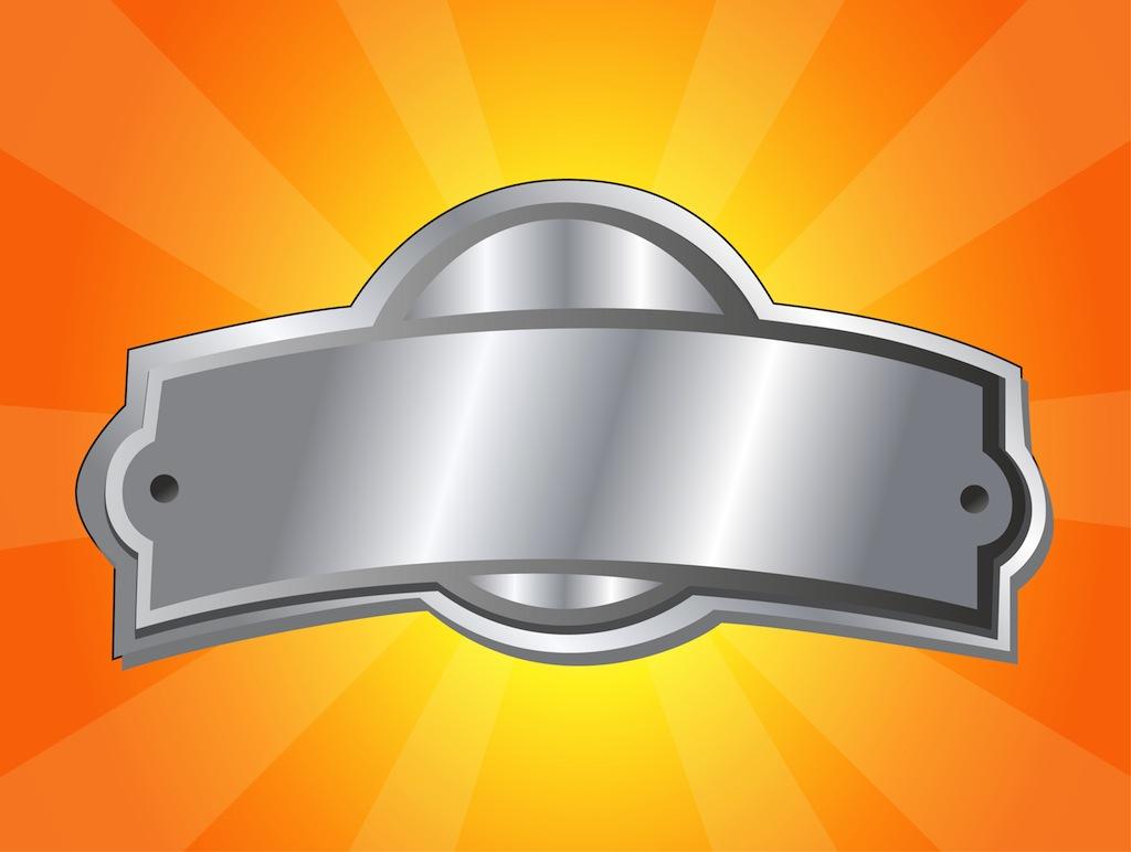 Metal Plate Vector Free