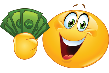 Money Smiley Face Clip Art