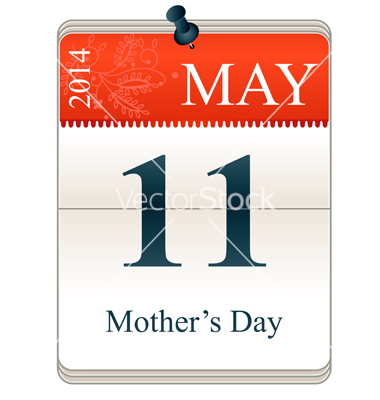 Mother's Day 2014 Calendar