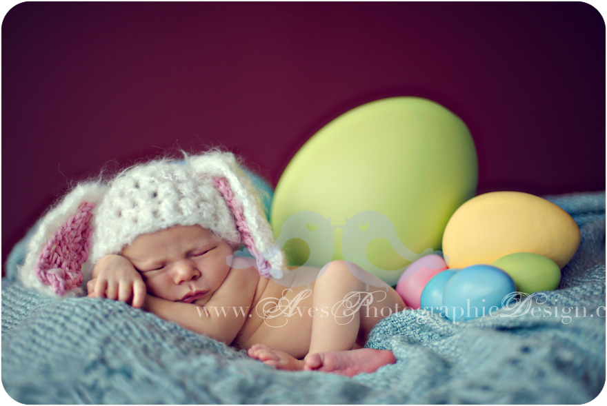 15 Newborn Easter Photography Images