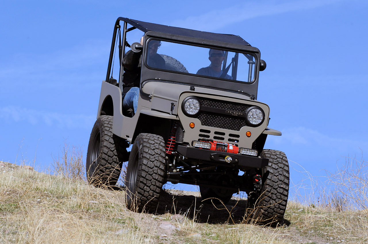 18 Icon Off-Road Jeep Images