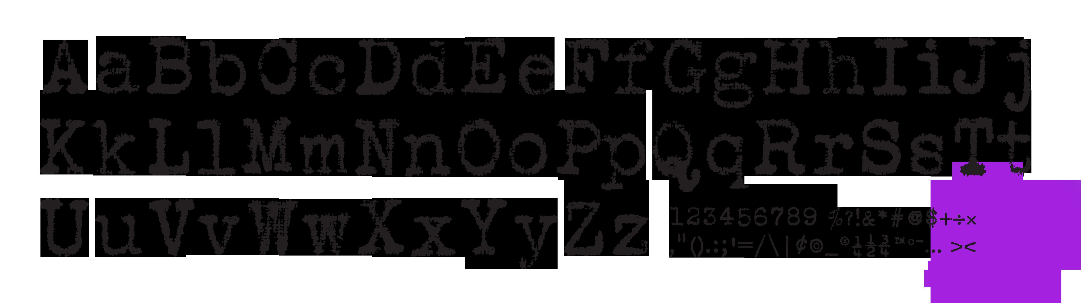 Free typewriter fonts urban fonts.