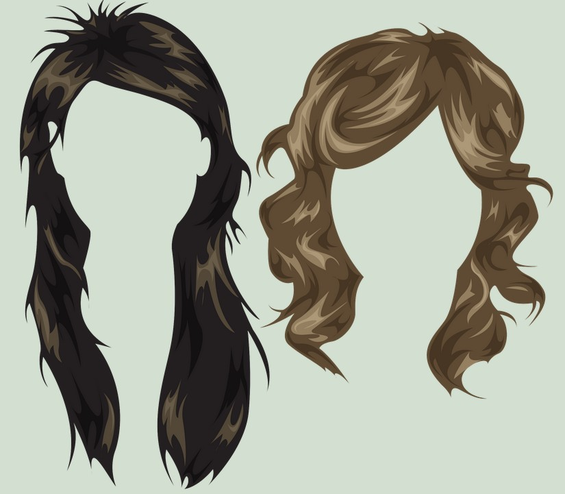 PSD Women Hairstyles