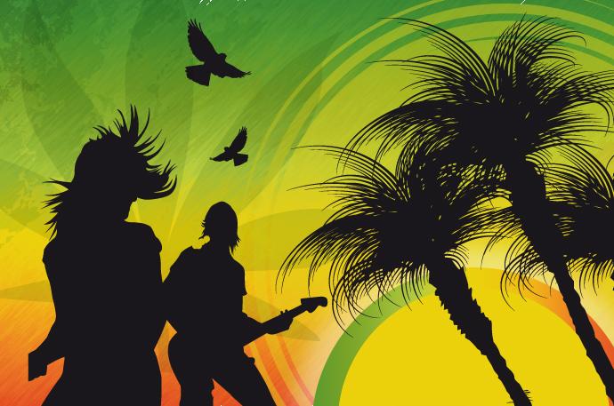 Reggae Music Clip Art