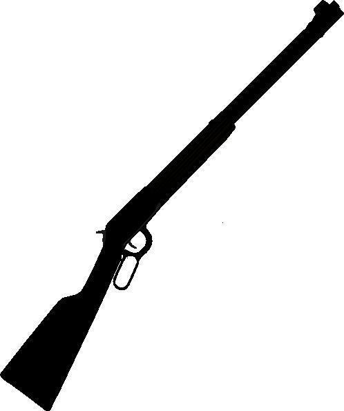 Rifle Silhouette Clip Art