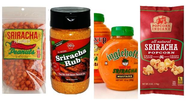 Sriracha Flavored Products