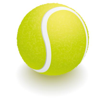 12 Tennis Ball Vector Art Images