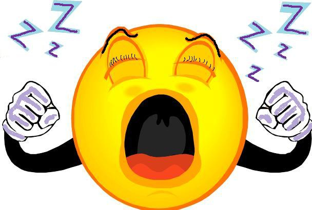 15 Tired Smiley Emoticon Images