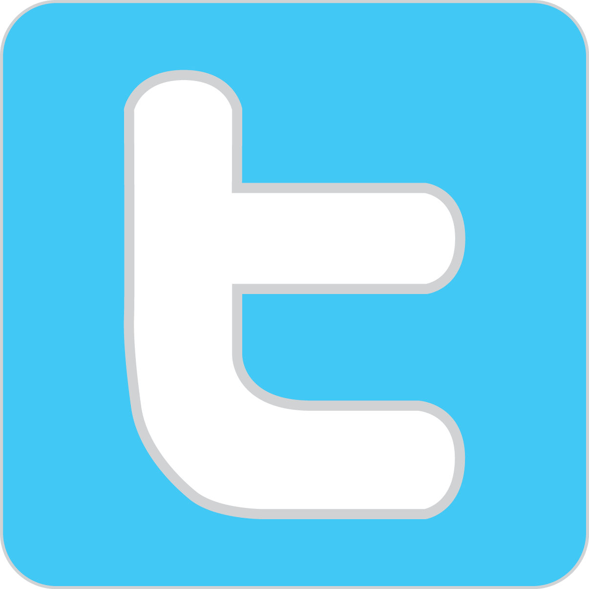 Image result for twitter icon square