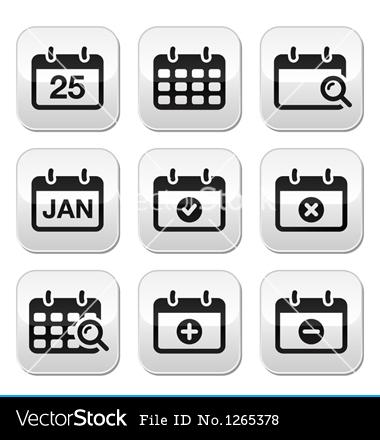 Vector Calendar Date