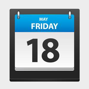 Vector Day Calendar