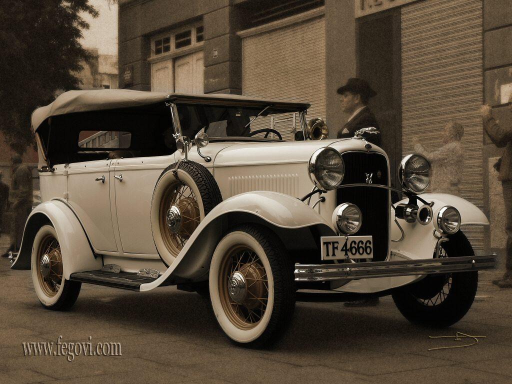 Very Old Vintage Car