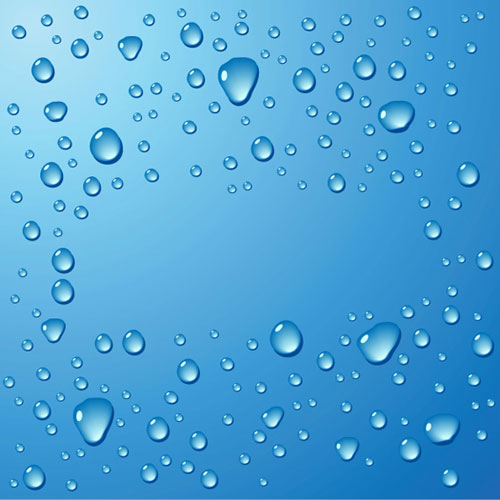 11 Water Drop PSD Flyer Images