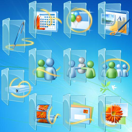 18 3D Folder Icons For Windows 7 Images - Cool Folder ...