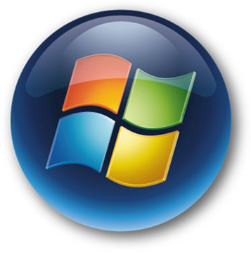 Windows 7 Start Menu Button Icon