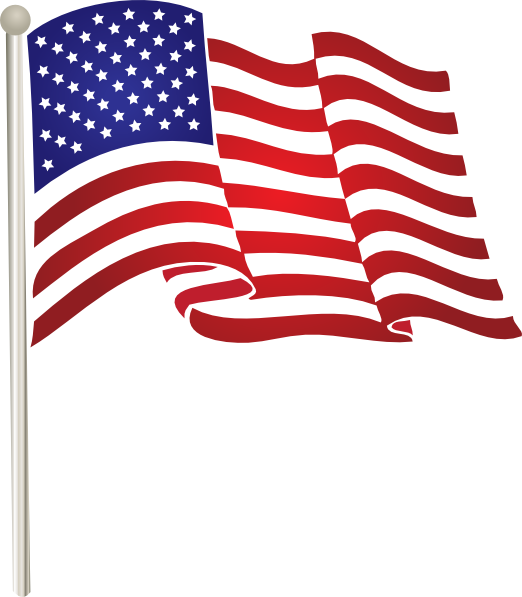 14 American Flag Vector Art Images