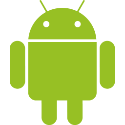 Android Logo Black