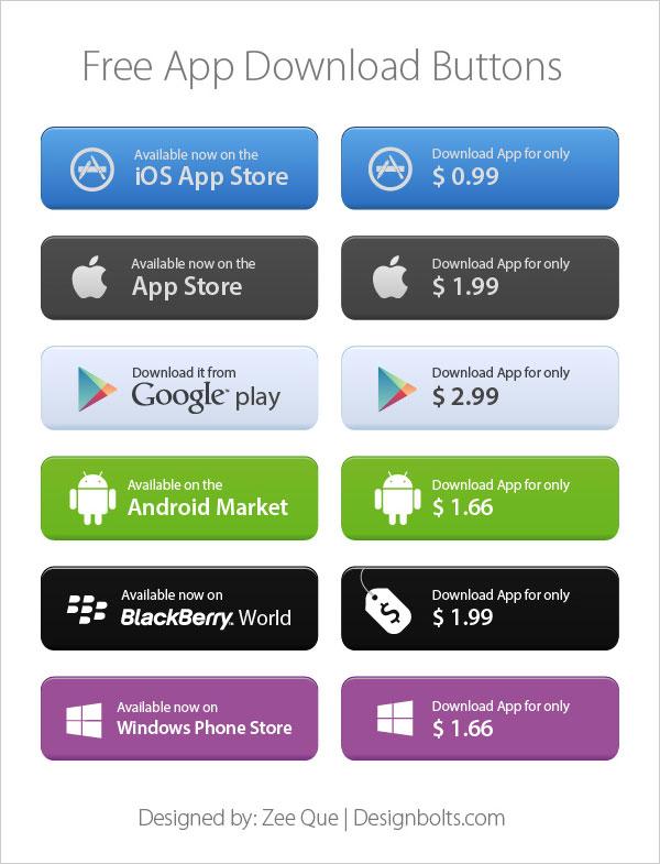 Apple App Store Download Button