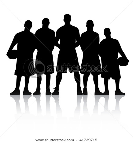 10 Team Player Vector Images