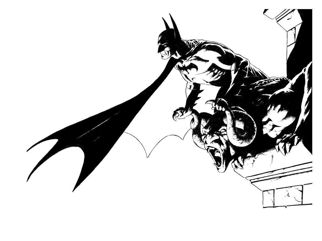 18 Batman Black And White Vector Images Batman Black And