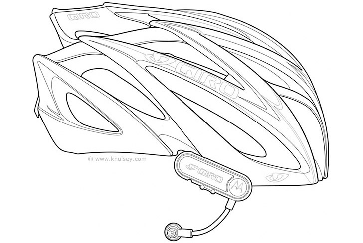 10 Bike Helmet Vector Images