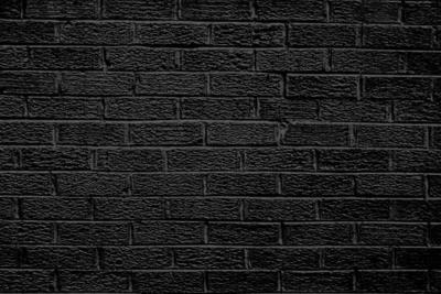16 Black Brick Wall PSD Images