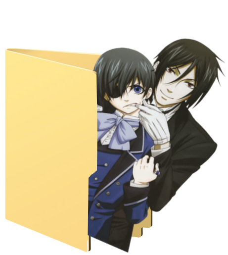Black Butler Folder Icons