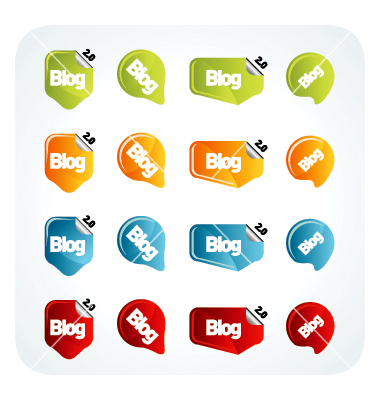 Blog Icon Vector Free Download