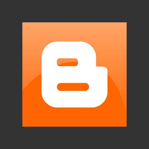 Blogger Icon Vector