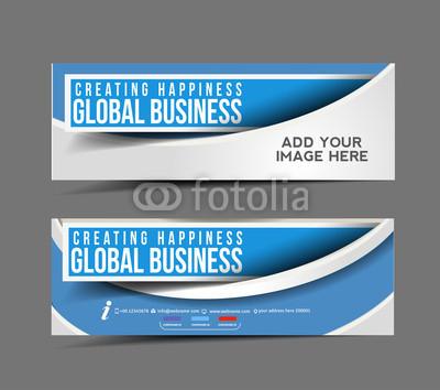 Business Header Banner Design