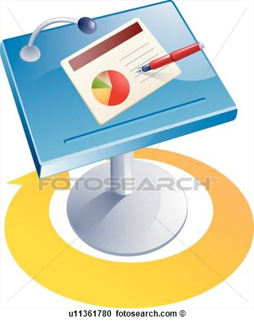 Business Office Icon Clip Art